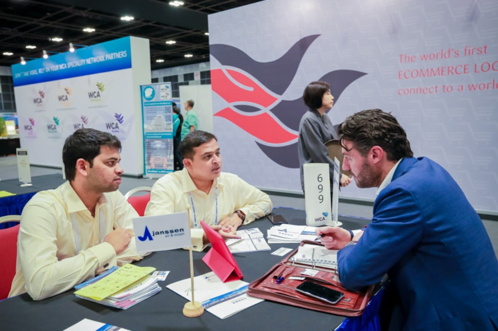WCA conference attracts nearly 3000 forwarders to Singapore