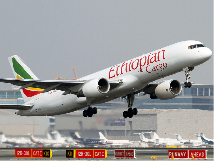 Ethiopian Airlines relaunches cargo flights at Brussels Airport