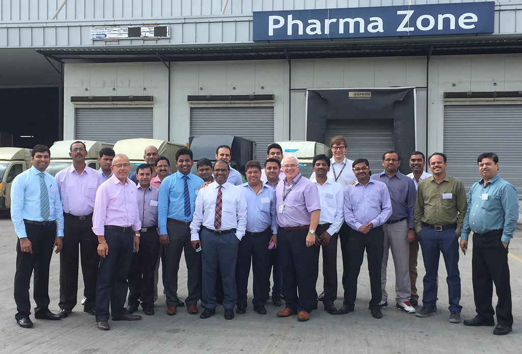Indian pharma shippers and forwarders attend GDP academy