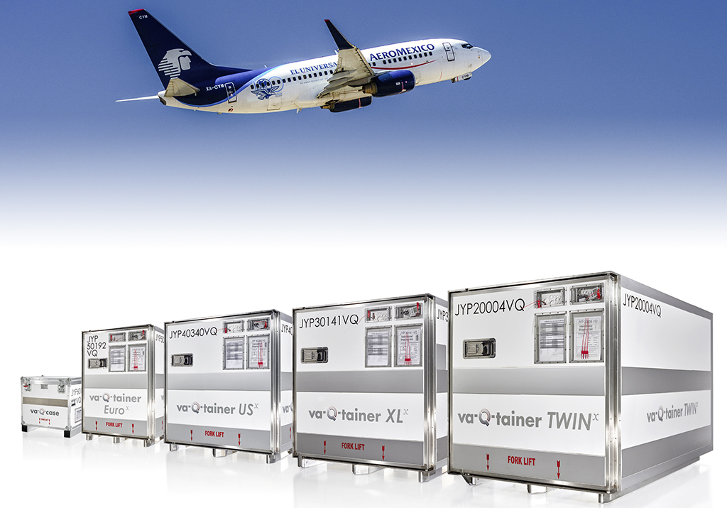 Aeromexico signs cool containers deal